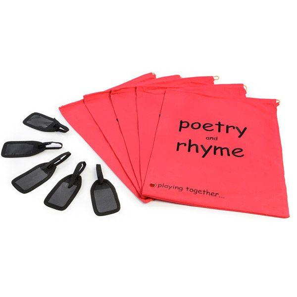 Poetry & Rhyme Bag Set