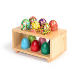 Set of Eggs and Egg Rack