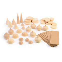Set of Cones, Discs, Spires and Tops