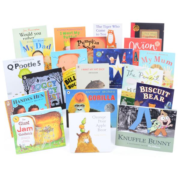 Set of 20 Basic Books 1