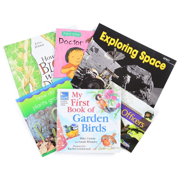 Set of 6 Finding Out Books
