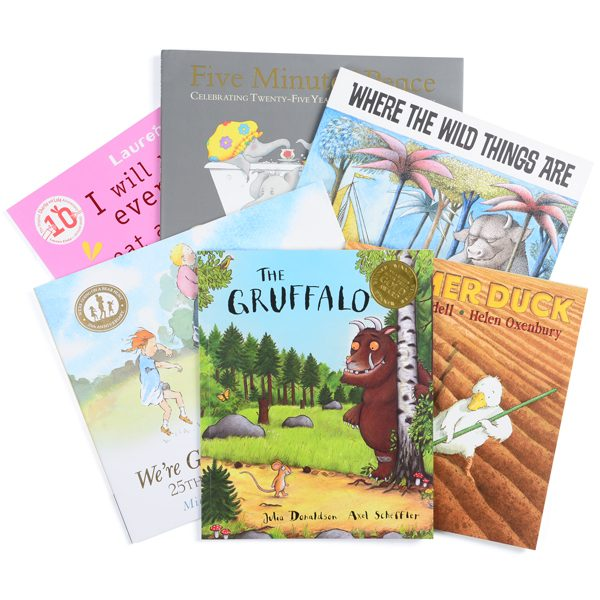 Set of 6 Favourite Story Books