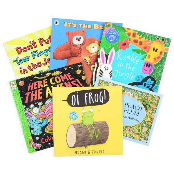 Set of 6 Rhyme Books