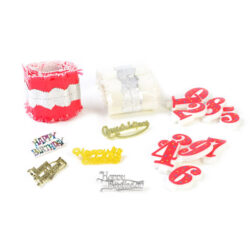 Set of Cake Decorations