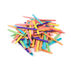 Set of Coloured Sticks Coloured Lollipop Sticks Lolly Pop