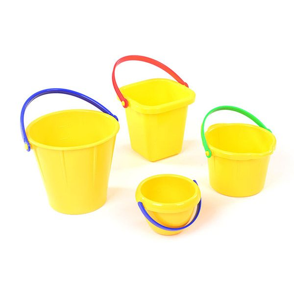Set of Yellow Buckets