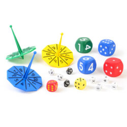 Set of Dice and Spinners