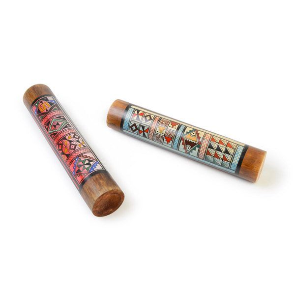 Set of Painted Rainsticks