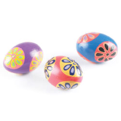 Set of Painted Egg Shakers