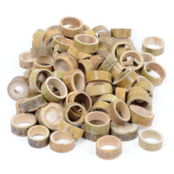 Set of Natural Bamboo Circles
