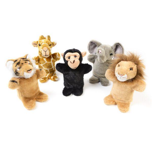 Wild Animal Hand Puppets