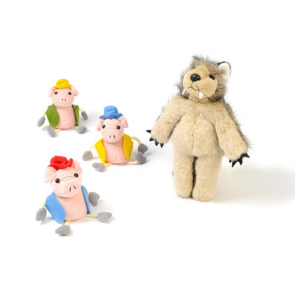 Three Little Pigs Puppet Set 1