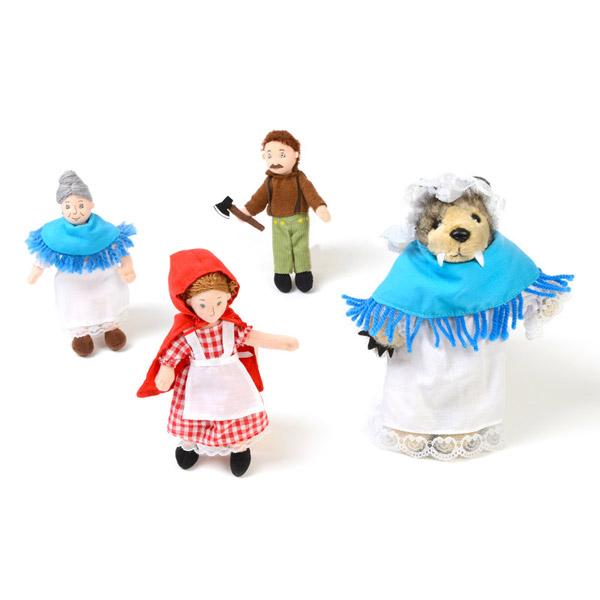 Little Red Riding Hood Puppet Set 1