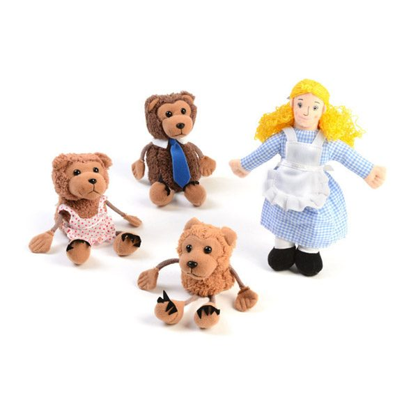 Goldilocks and the Three Bears Puppet Set