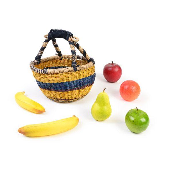 Wicker Basket and Fruit