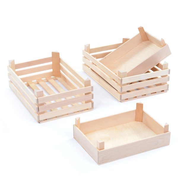 Set of Grocery Crates