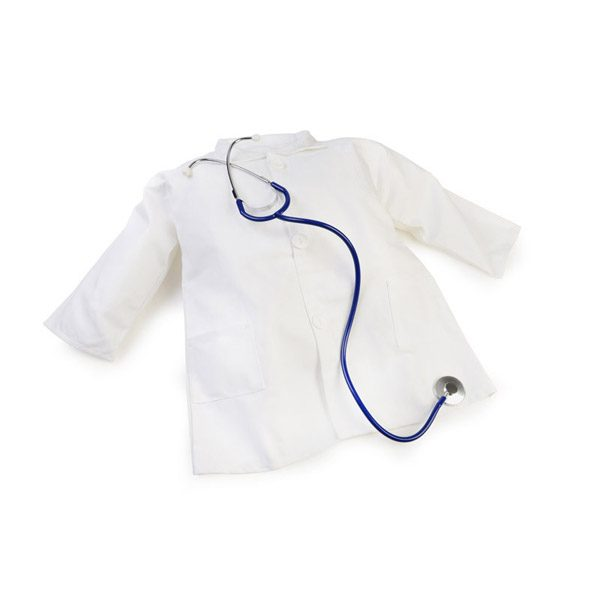 Doctors Coat with Stethoscope