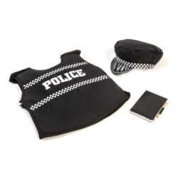 Police Jacket, Hat & Notebook