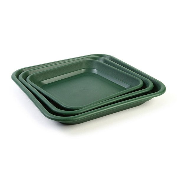 Set of Green Trays Balconnaire Keter Garden Containers