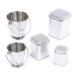 Set of Metal Containers