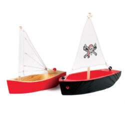 Set of Pirate Boats