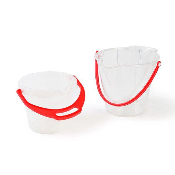 Set of Transparent Buckets