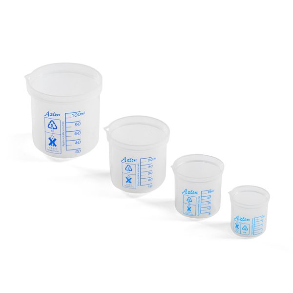 graded beakers 10-50ml set