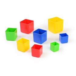 Set of Stacking Cubes