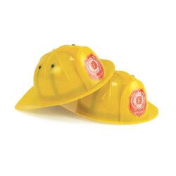 Set of Firefighter Helmets