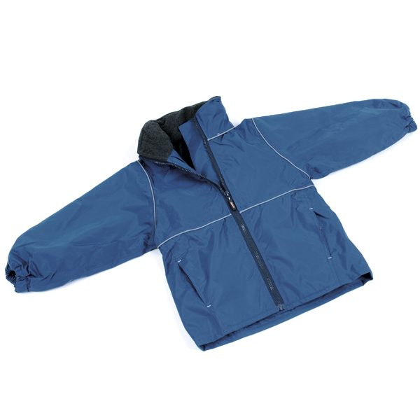 Fleece Lined Jacket – Navy