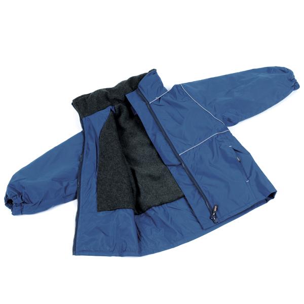 Fleece Lined Jacket – Navy