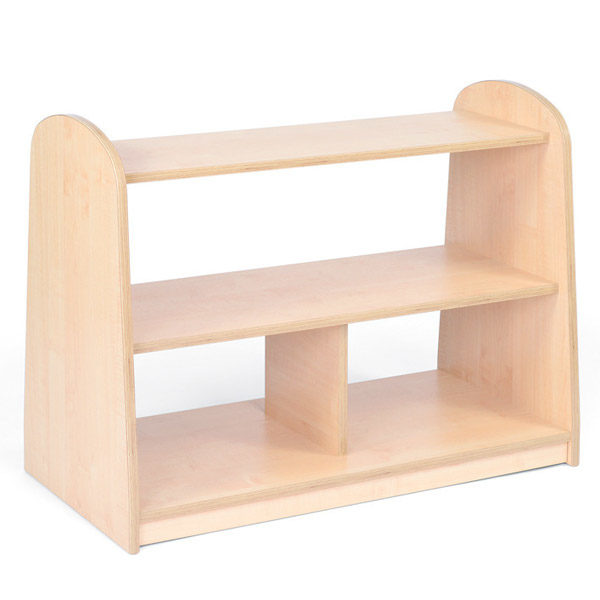 Low Level Open Shelving Unit Classroom Furniture for Primary Years