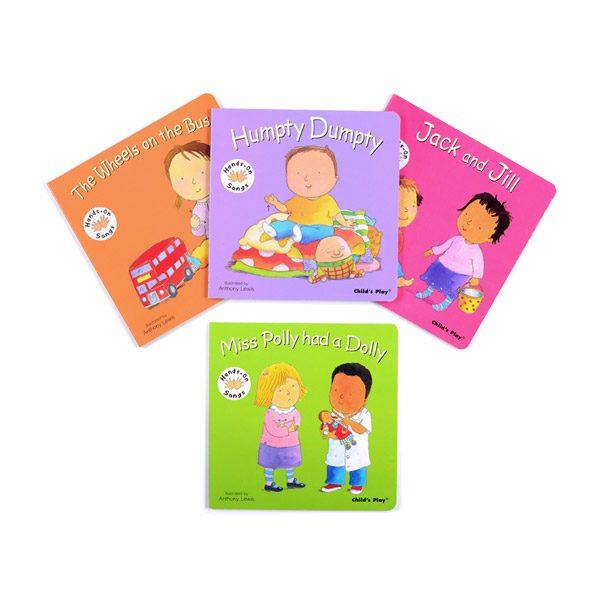 Set of Action Nursery Rhyme Books