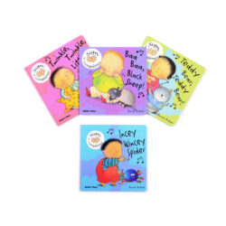 Set of Sign & Sing Along Rhyme Books
