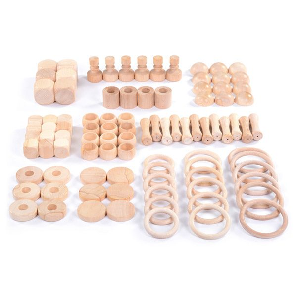 Set of Wooden Play Shapes