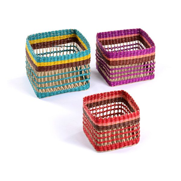 Set of Nesting Baskets (square)