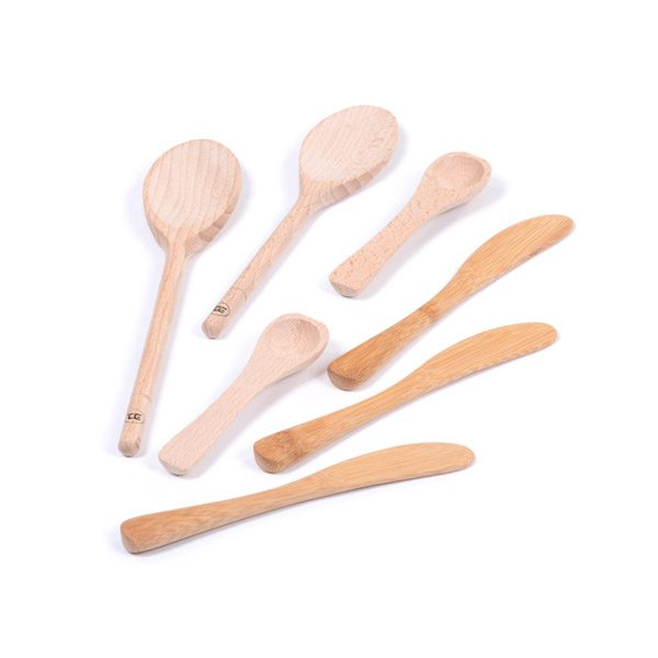 Set of Wooden Utensils