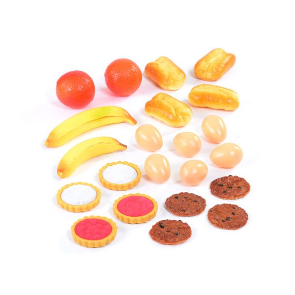 Set of Plastic Food