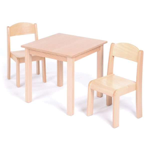 Table & Chairs 2-3yrs