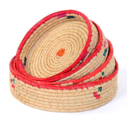 Set of 4 Round Baskets