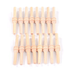 Set of 16 Small Spindles