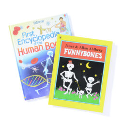 Set of 2 Bones Books
