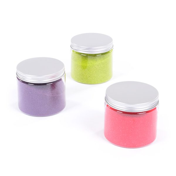 Set of 3 Jars of Coloured Sand
