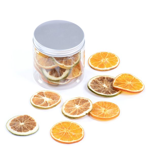 Jar of Orange & Lime Slices
