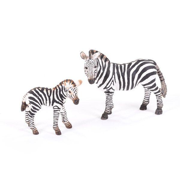 Zebra Adult & Baby