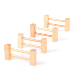 Set of 4 Wooden Fences