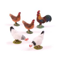 Hens & Rooster Set