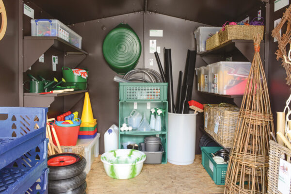 Large Outdoor Classroom Interior
