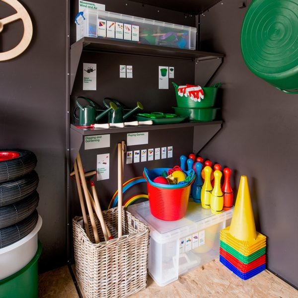 Large Outdoor Classroom Storage Area 2