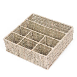 Weaving Basket for Storing and Organising Outdoor Resources Large Natural Organiser